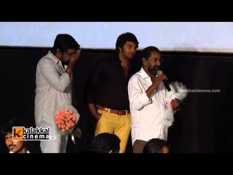 Director Rajesh at Amarakaviyam Audio Launch