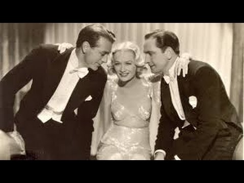 design for living 1933 with Gary Cooper, Miriam Hopkins, Fredric March movie