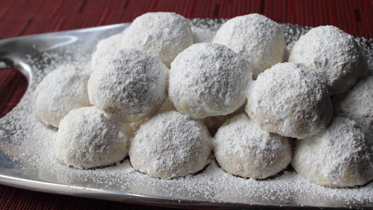 Russian Tea Cakes - Easy Tea Cookies Recipe aka Wedding Cookies
