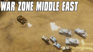 War Zone Middle East Pre Alpha - Middle East Real Time Strategy Game