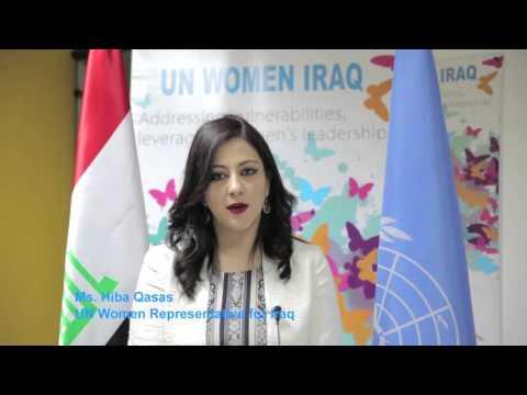 IWD 2016 Message from UN Women Representative for Iraq - Ms. Hiba Qasas