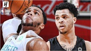 San Antonio Spurs vs Charlotte Hornets - Full Game Highlights | July 7, 2019 NBA Summer League