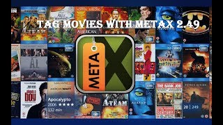 TAG MOVIES WITH METAX 2.49