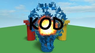 Roblox Kody #7: Simulateur de destruction (fr) 1 KOD