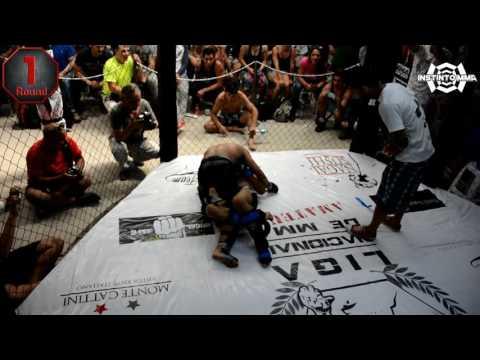 """Liga Nacional de MMA Amateur: John """"McGregor"""" Araya vs Gianaro """"Átomo"""" Mol"""