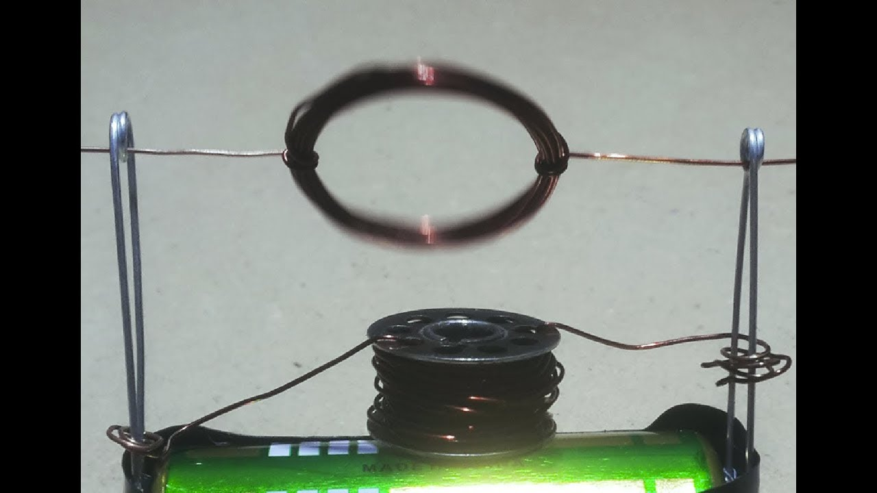 how to make a motor without a magnet