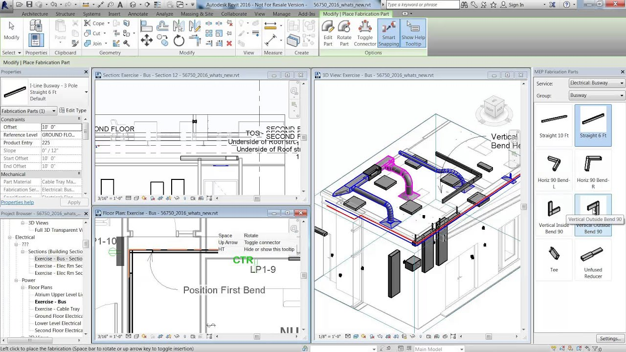 how to move a floor plan catogory in revit