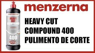 Menzerna Heavy Cut Compound 400 - Pulimento de corte (Subtítulos en Español)