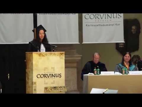 Graduation Speech 2013 - Corvinus University