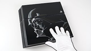 """PS4 """"DARTH VADER"""" Console Unboxing! Star Wars Limited Edition PlayStation 4"""