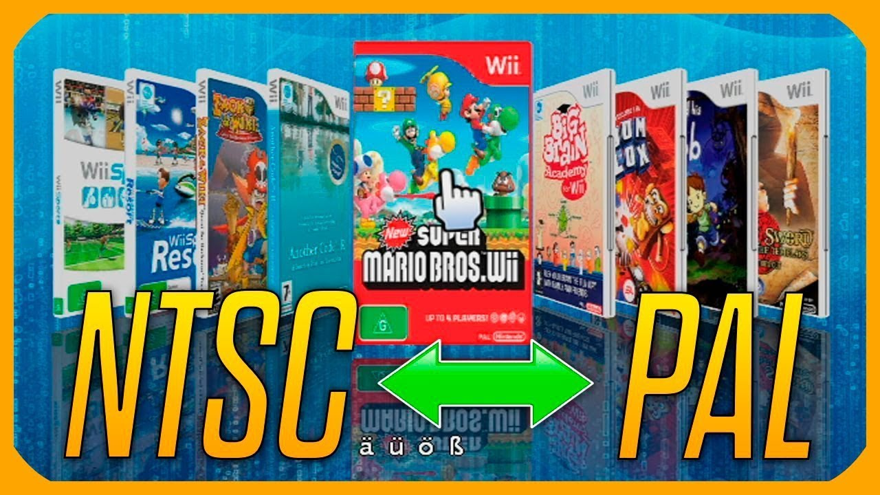 wii iso ntsc to pal