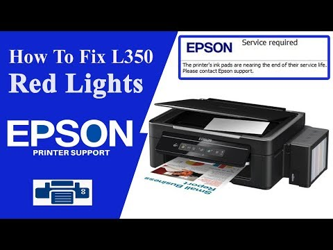 Resetter Epson l355   Service Required   Epson Adjustment Program