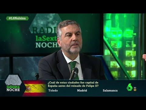 LaSexta Noche Somete A Alsina Al 'test De Españolidad' Que Realiza A Sus Entrevistados