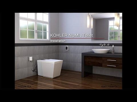 Installation Numi Intelligent Toilet Youtube