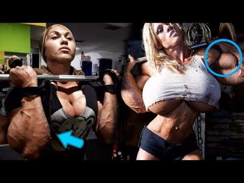 Biggest Female Bodybuilders In The World 💪👀