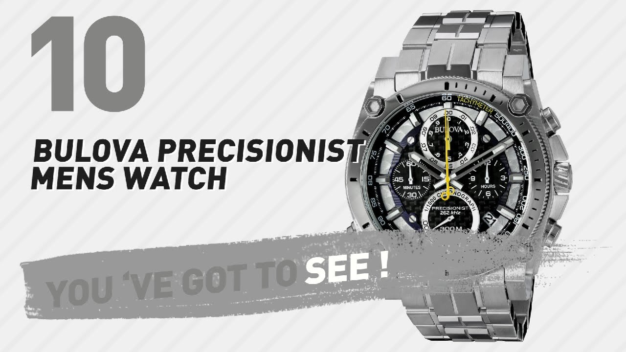 c80e93593 Top 10 Bulova Precisionist Mens Watch // New & Popular 2017 - YouTube