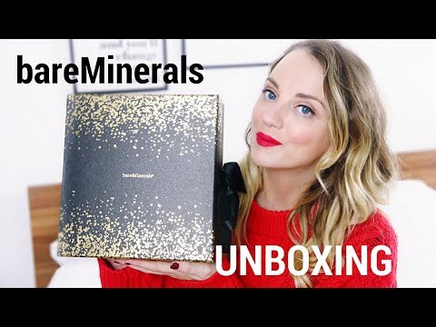 BARE MINERALS ADVENT CALENDAR 2017 UNBOXING | Paula Holmes