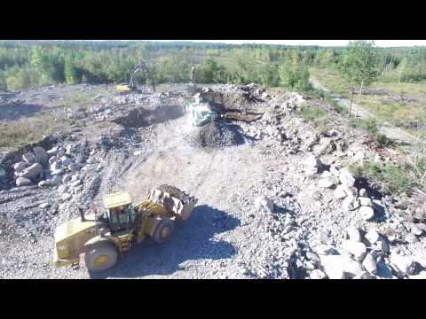 Orefinders Mirado Mine Gold Stockpile Project in Kirkland Lake, ON, Canada.