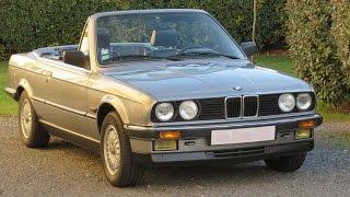 Convertible BMW 325i cabriolet E30 1988 M20 171hp full stock youngtimer zerostressauto