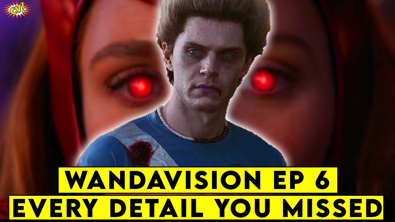 Download Wandavision Ep 6 Every Detail You MISSED    ComicVerse