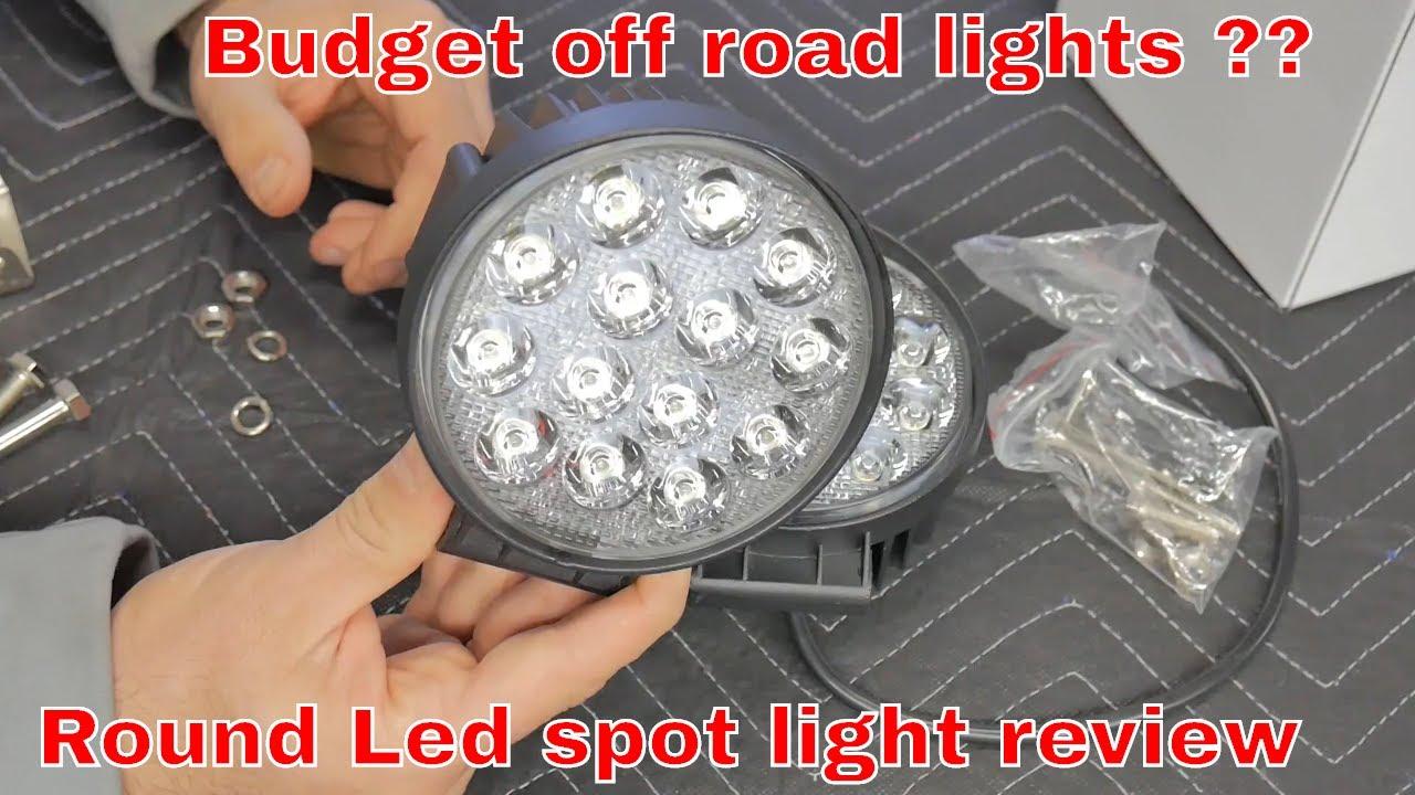 Budget Off Road Led Lights 4 5 Inch 42 Watt Spot Beam Lights