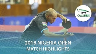 Adeyinka Hammed vs Arnachellum Allan | 2018 Nigeria Open Highlights (Group)