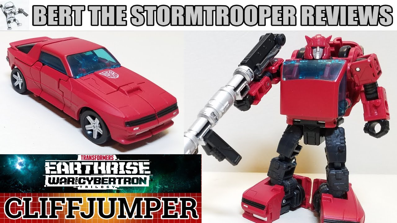 TF: WFC: Earthrise CLIFFJUMPER Review by Bert the Stormtrooper