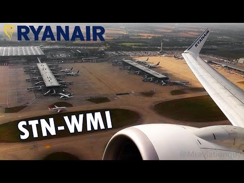 TRIP REPORT! | Ryanair 737-8AS | London Stansted (STN) to Warsaw Modlin (WMI)