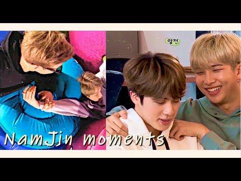 Jin & RM Moments 2  (Namjin) +/jealousy
