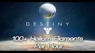 destiny fastest easiest way to farm helium filaments guide best chest run moon