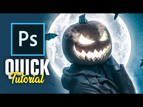 How To PUMPKIN Yourself! (photoshop)