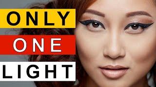 Repeat youtube video Portrait Photography Lighting LIVE Photoshoot - Single light Portraiture | Speed Light
