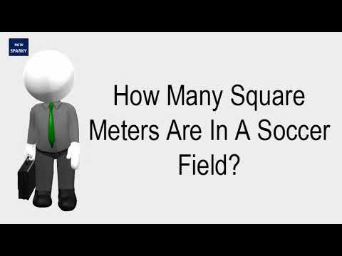 How Many Square Meters Are In A Soccer Field Youtube