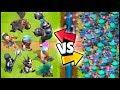 RASCALS vs ALL LEGENDARY CARDS - Clash Royale Highlights