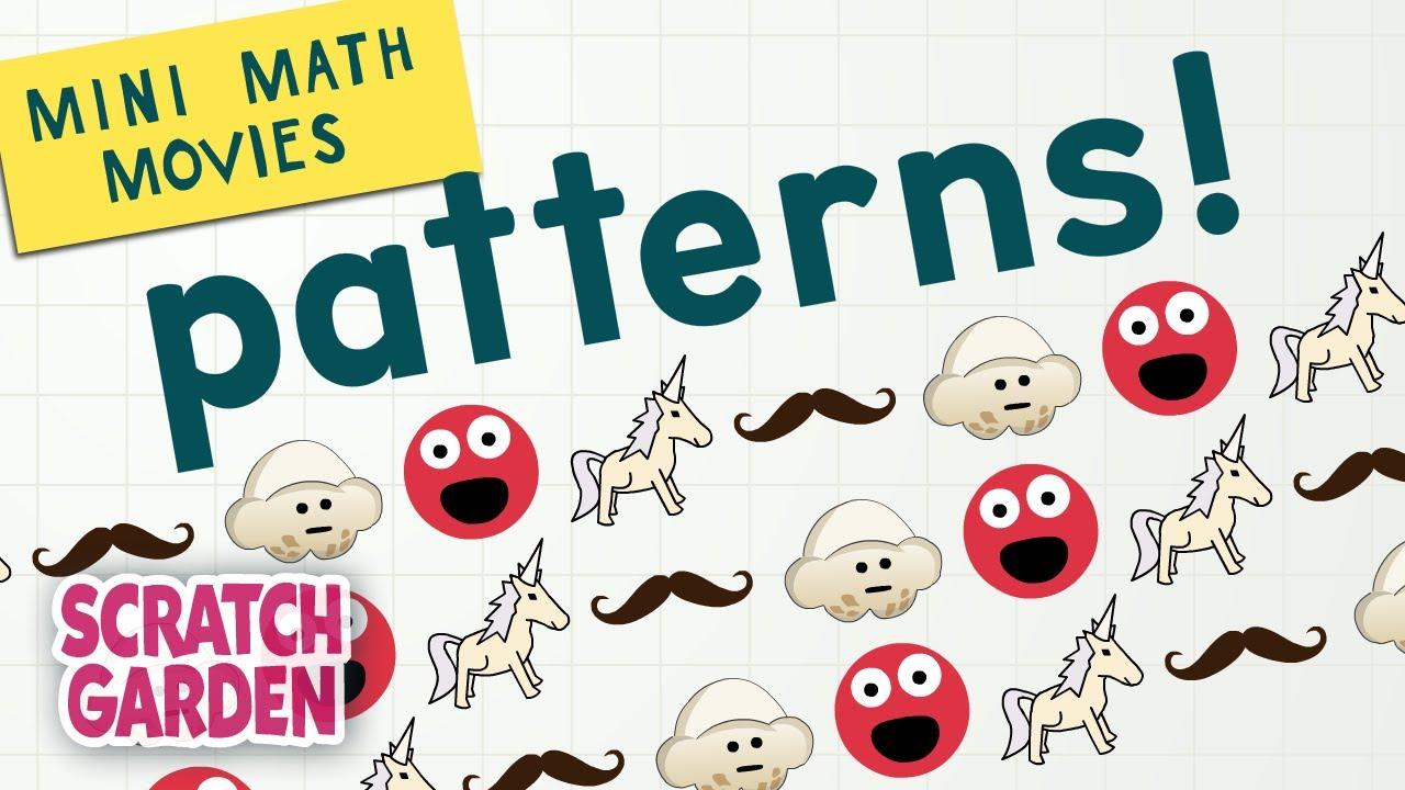 Download Patterns! | Mini Math Movies | Scratch Garden