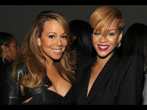 RIHANNA's and Mariah carey's FRIENDSHIP!