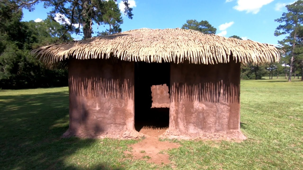 Native American Dwelling In Georgia (Replica)