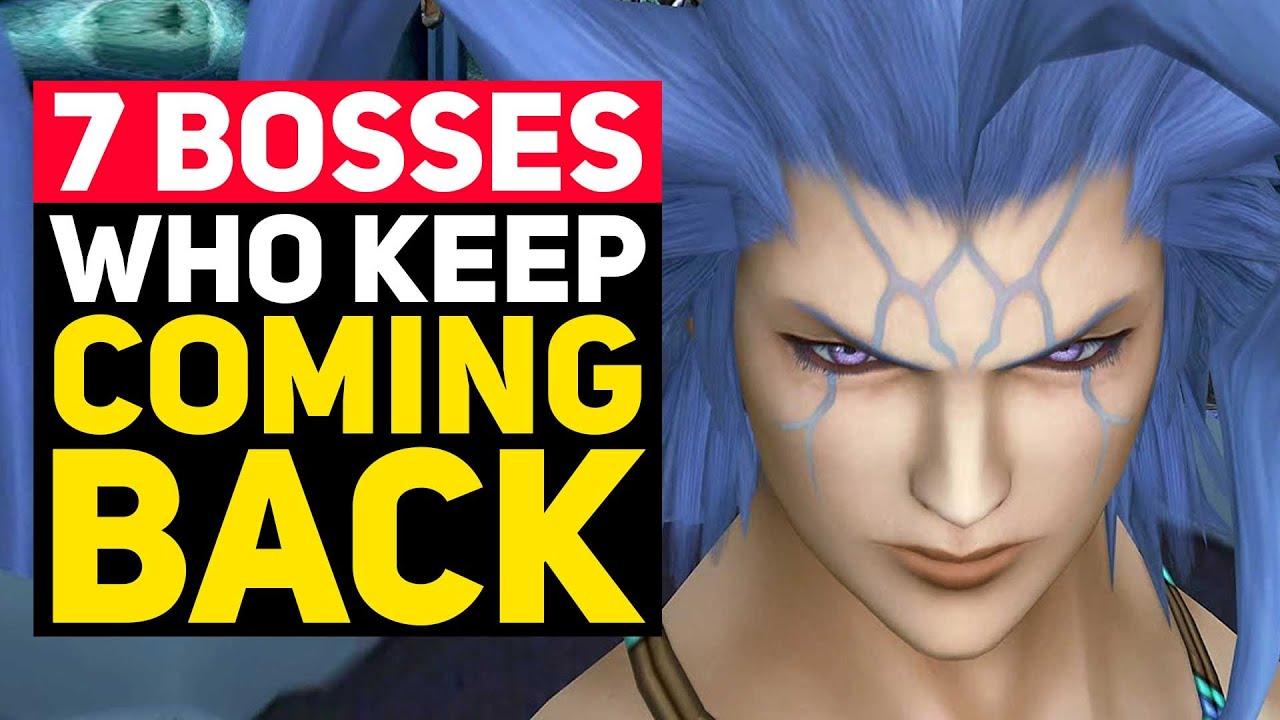 Top 7 Final Fantasy Bosses Who Just KEEP COMING BACK!