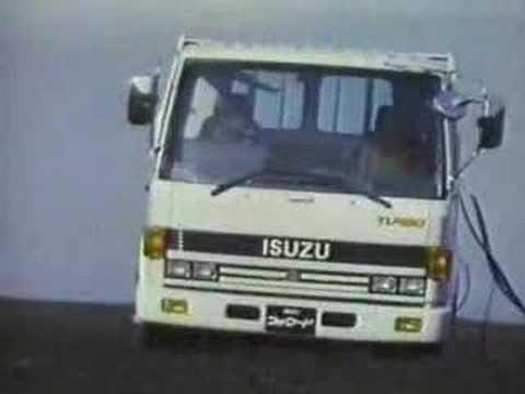 Isuzu Forward 1986 commercial Japan