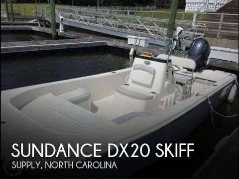 Used 2016 Sundance DX20 Skiff for sale in Supply, North Carolina