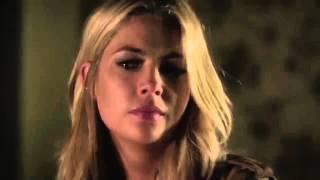 Halub Kiss 6x20 Hush Hush Sweet Liars Hannah And Caleb Pll