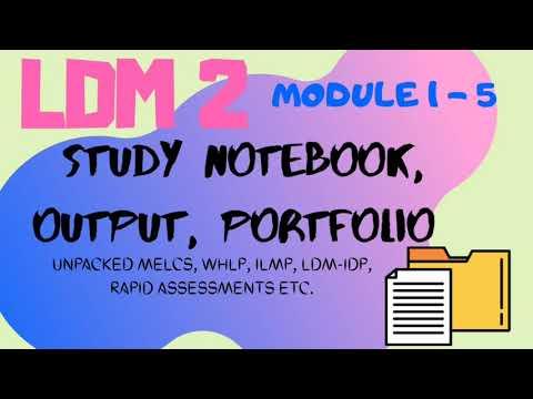 Download LDM 2 - MODULE 1 to 5 (PORTFOLIO)