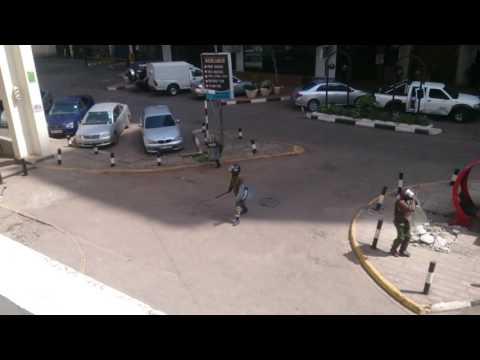 Police brutality in Nairobi Kenya