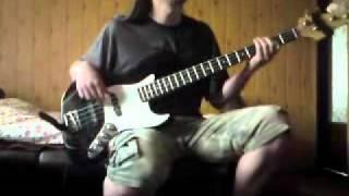 Tiamat - Atlantis As A Lover (bass cover)