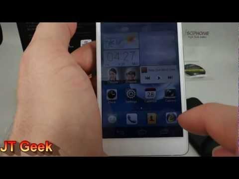 Huawei Ascend D2 Test par le JT Geek