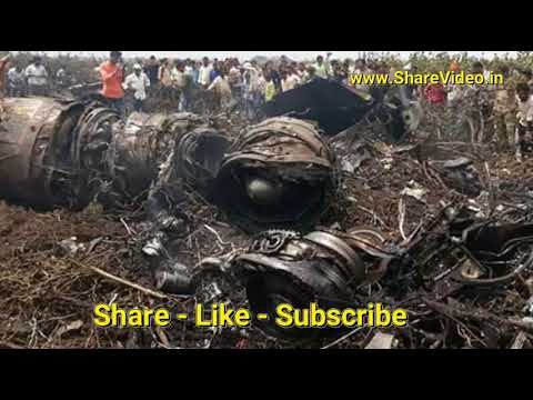 Nashik Plain Crash - Watch Live Video of 3 Pilots Landing Safely in Grape Farm Latest Update News