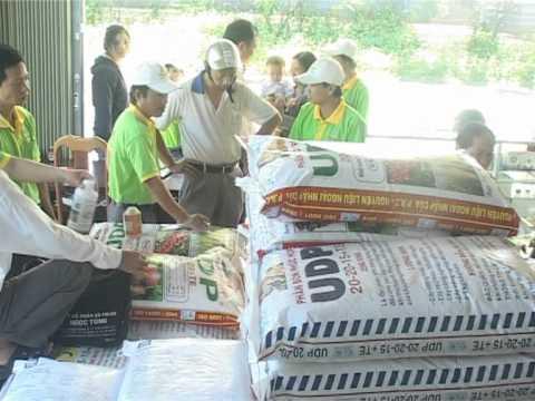 Công ty Ngọc Tùng hướng dẫn người dân chăm sóc cà phê hiệu quả trong mùa mưa