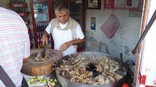 Tacos de colita de res(taqueria el sabinito)