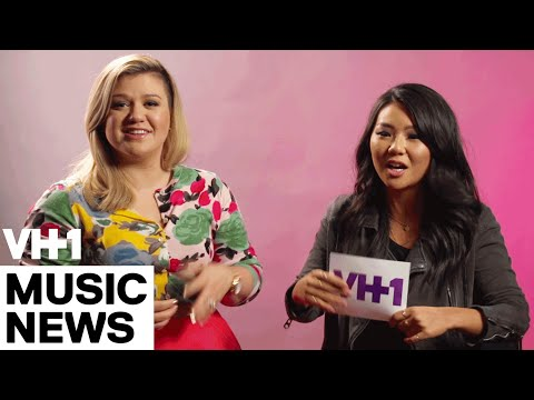 Kelly Clarkson's Ovaries Explode Watching Tiny Fans Dance to Heartbeat Song | VH1