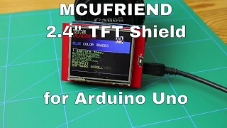 2.4'' MCUFRIEND TFT Shield for Arduino UNO R3 | From ICStation.com